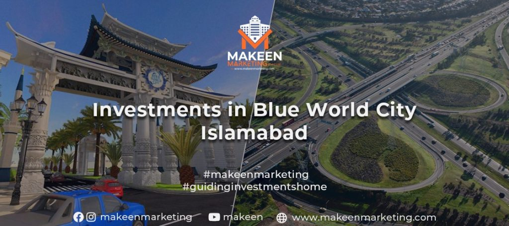 Investments in Blue World City Islamabad