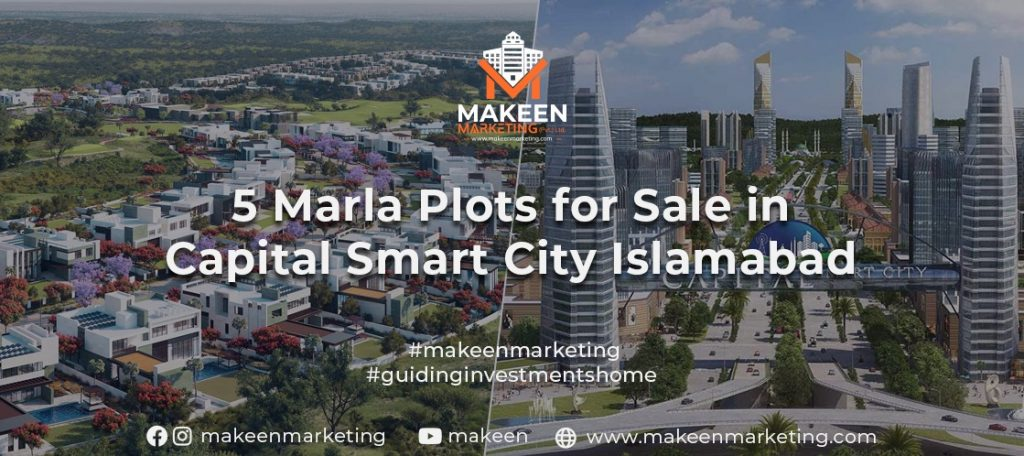 5 Marla Plots for Sale in Capital Smart City Islamabad