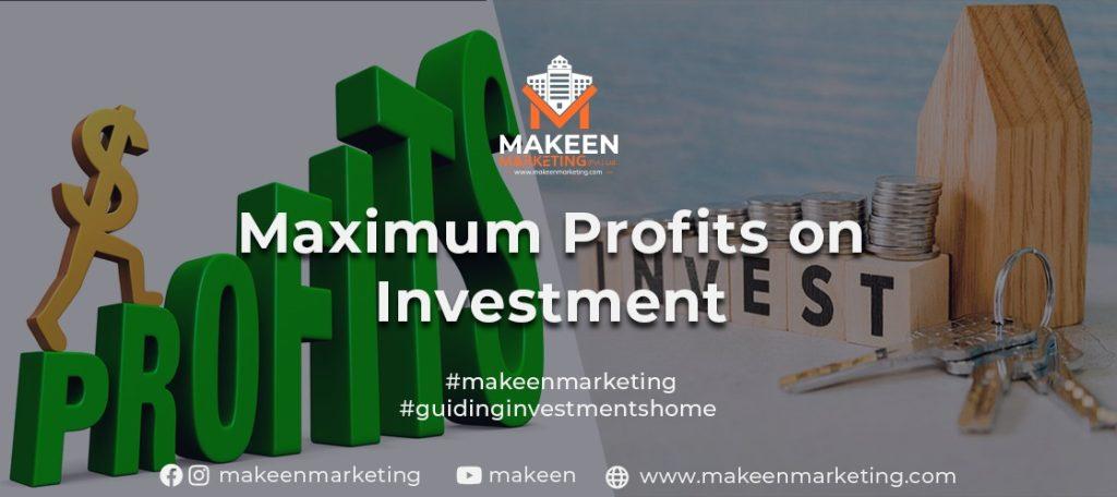 Maximum Profits on Investment