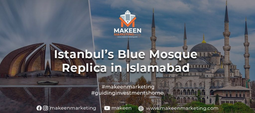Istanbul's Blue Mosque Replica in Islamabad