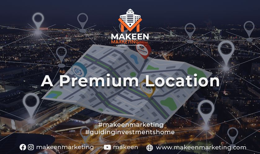 A Premium Location in Bahria Town Phase 8