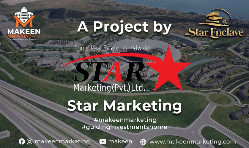 A Project by Star Marketing (Star Enclave Developers)
