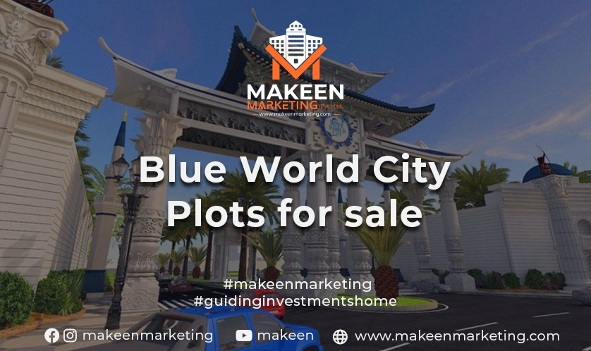 Blue World City Plots for Sale