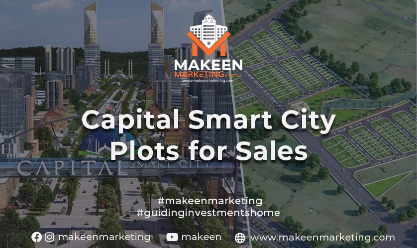 Capital Smart City Plots for Sale