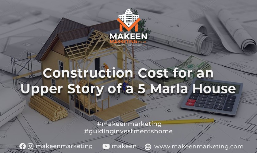 construction cost for a 5 marla house