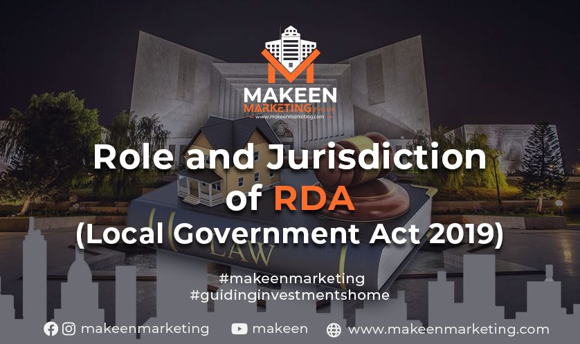 Role and Jurisdiction of RDA (Local Government Act 2019)
