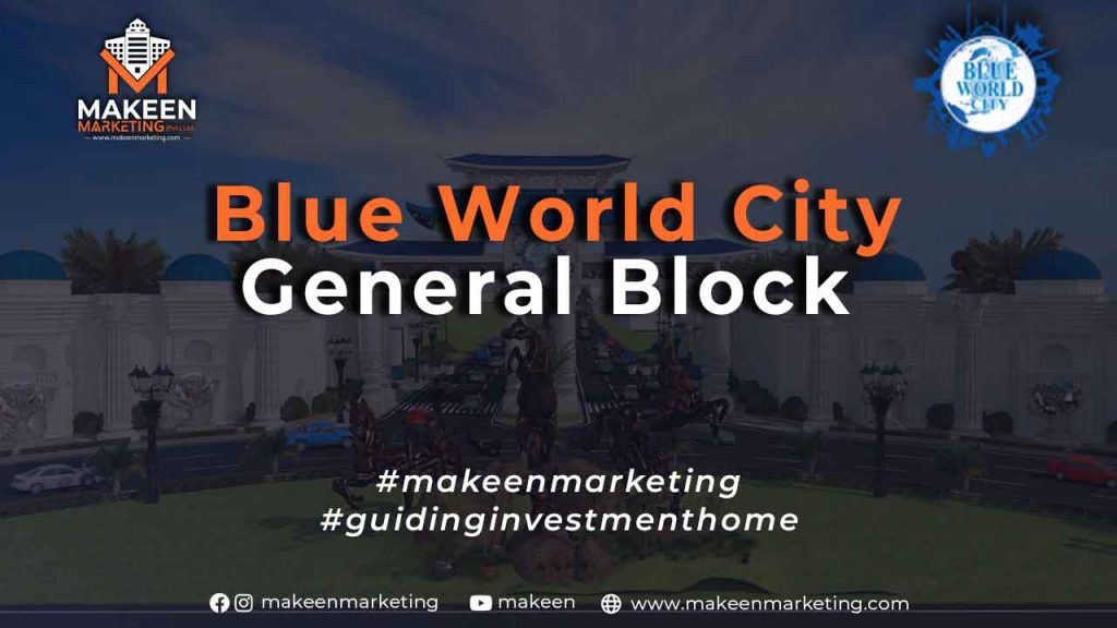 Blue World City Plots for Sale in General Block