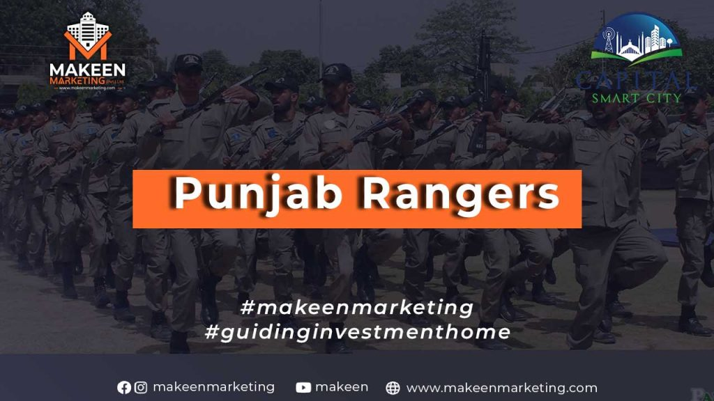 Punjab Rangers as a Skilled Force