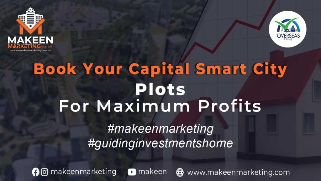 Book Your Capital Smart City Plots for Maximum Profits