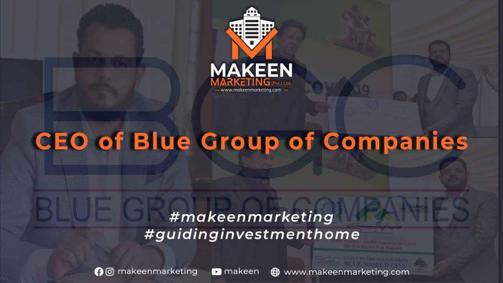 CEO of Blue Group of Companies