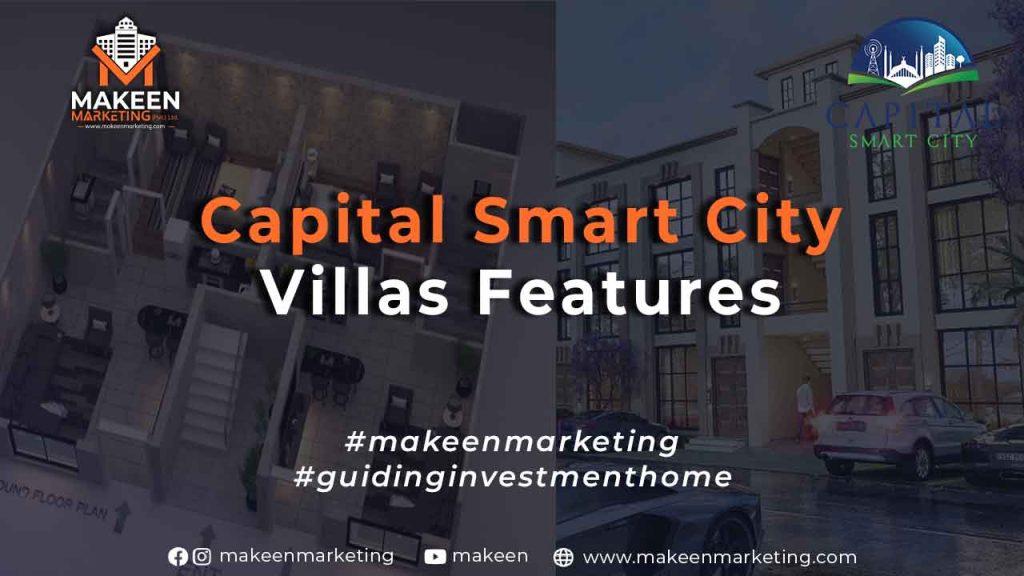 Capital Smart City Villa Features
