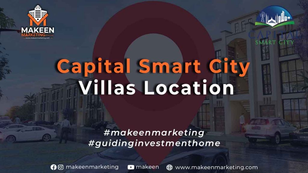 Capital Smart City Villas Location