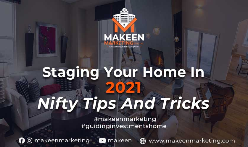 staging your home in 2021