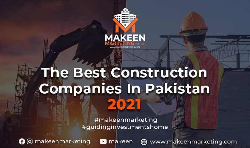 best construction companies in Pakistan