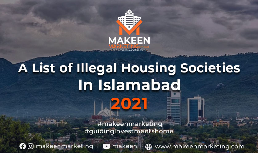 illegal housing societies in Islamabad