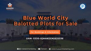 Blue World City Balloted Plots for Sale