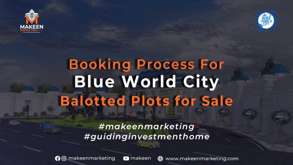 Booking Process for Blue World City