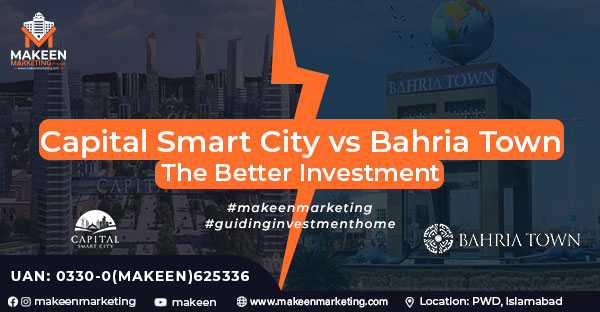 Capital Smart City VS Bahria Town