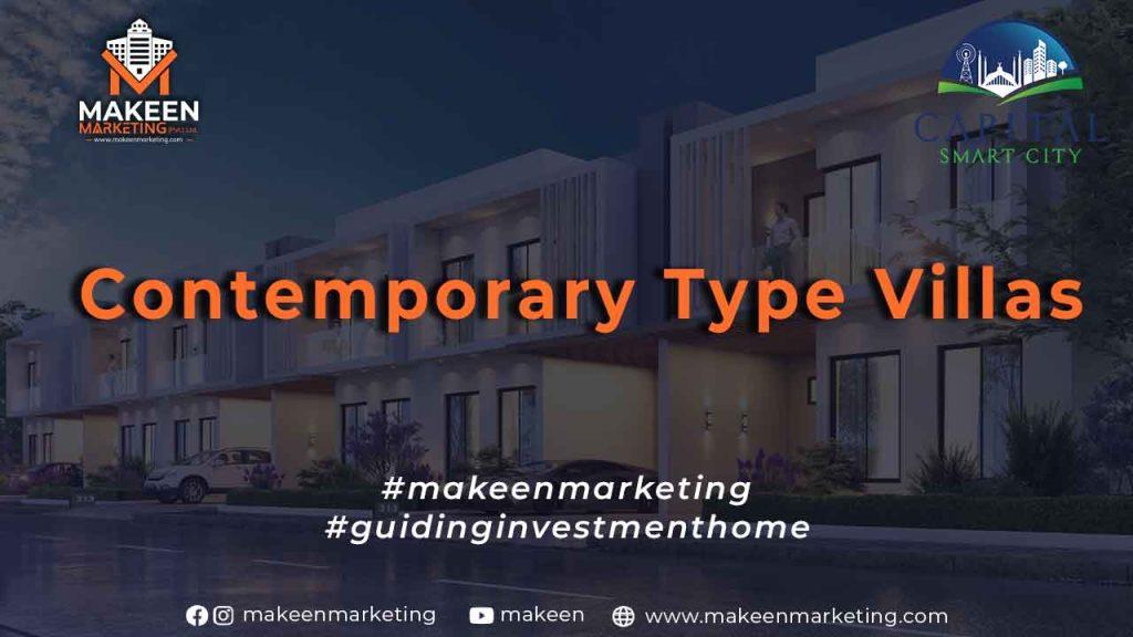 Contemporary Type Villas