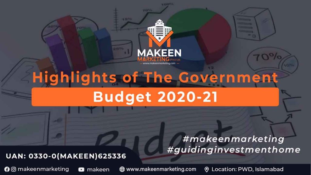 Highlights of the Government Budget 2020-21