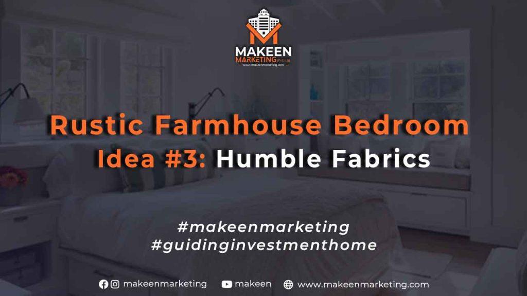 Rustic Farmhouse Bedroom Idea #3