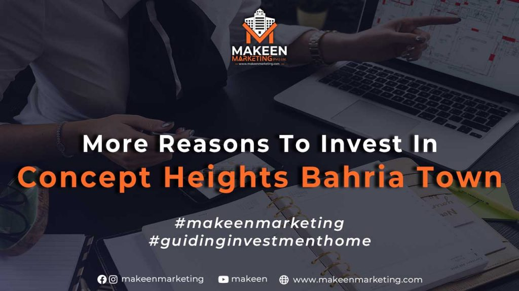 More Reasons to Invest in Concept Heights Bahria Town