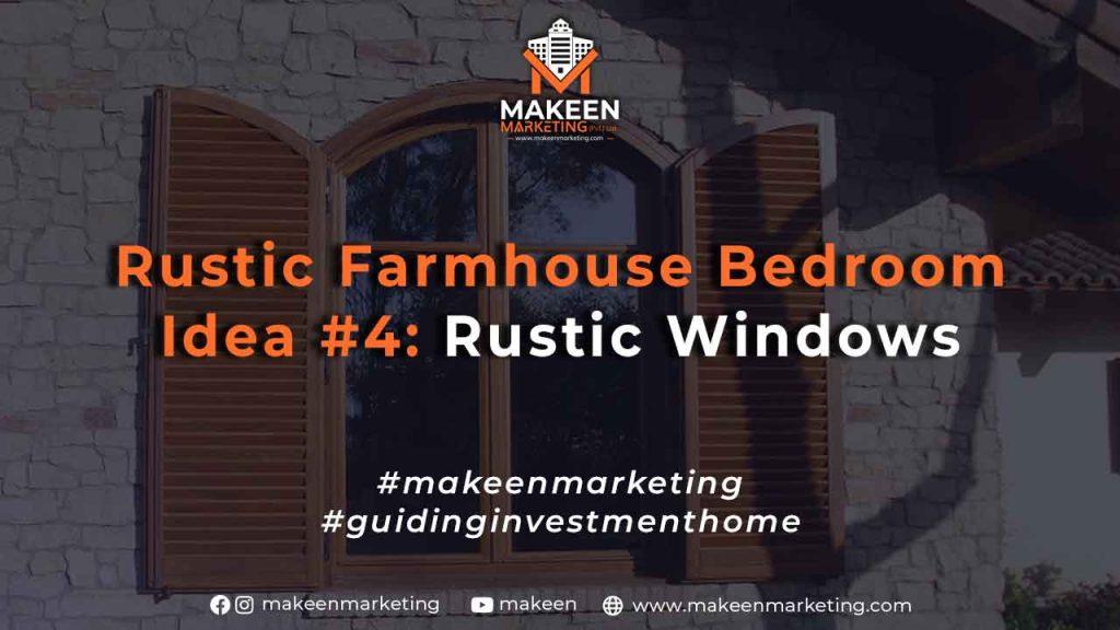 Rustic Farmhouse Bedroom Idea #4