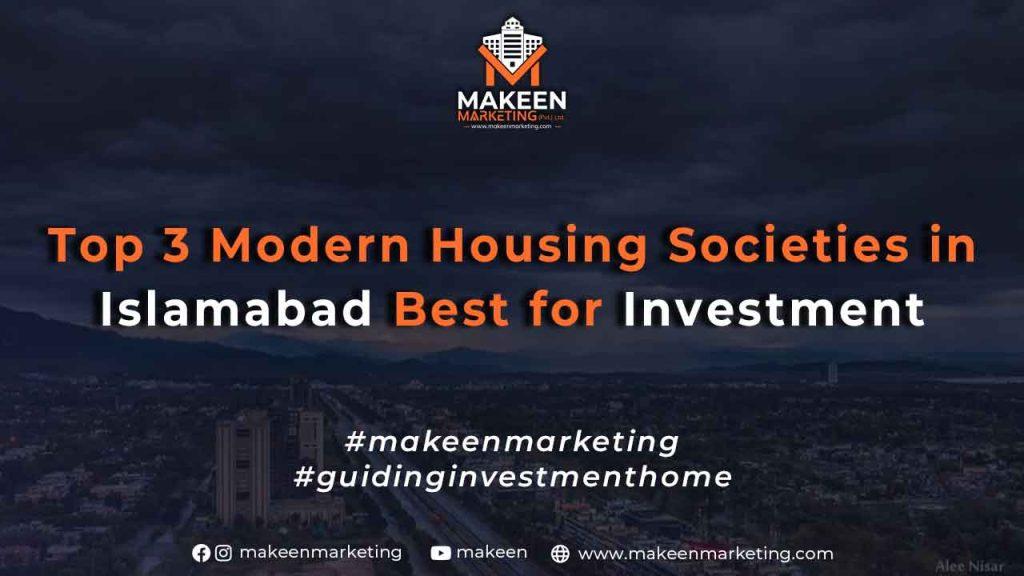 Modern Housing Societies in Islamabad