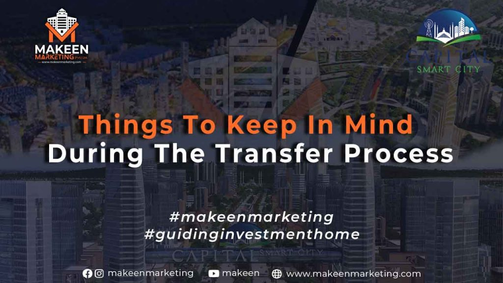 Things to Keep in Mind During the Transfer Process