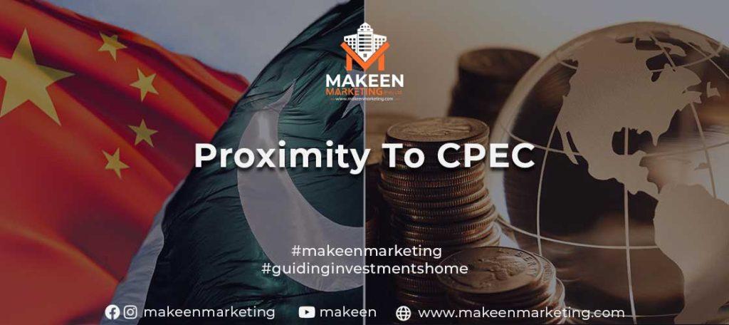 Proximity to CPEC
