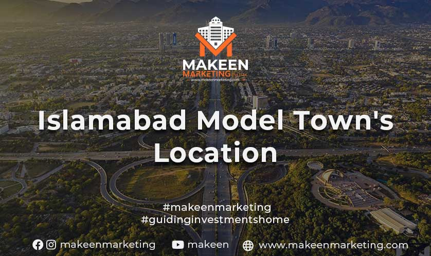 Islamabad Model Town's Location