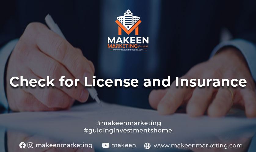License and Insurance