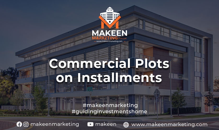 commercial plots on installments