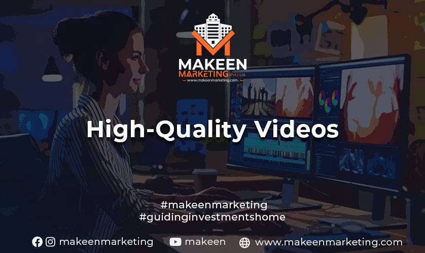 High Quality Videos for Real estate buyers in Pakistan