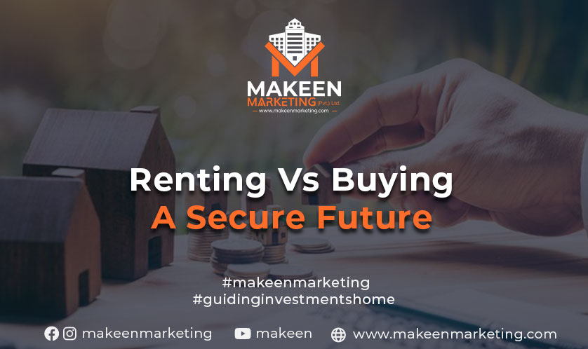 renting vs buying a secure future