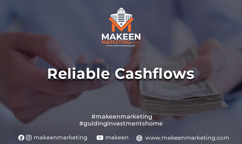 reliable cashflows from residential property