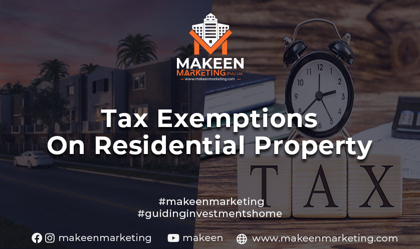 tax exemptions on residential properties