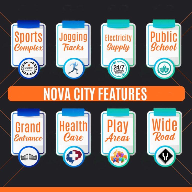 Nova city Features