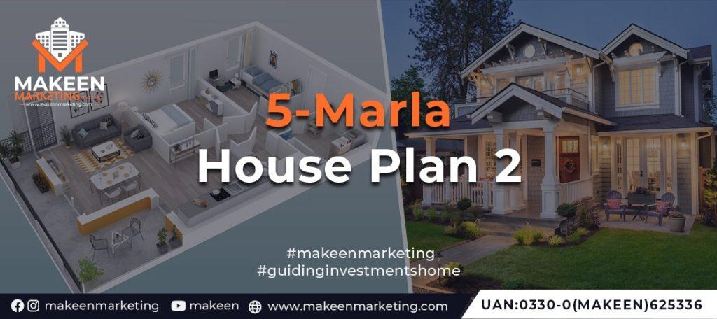5 marla house plan 2