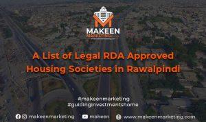 RDA Approved housing societies