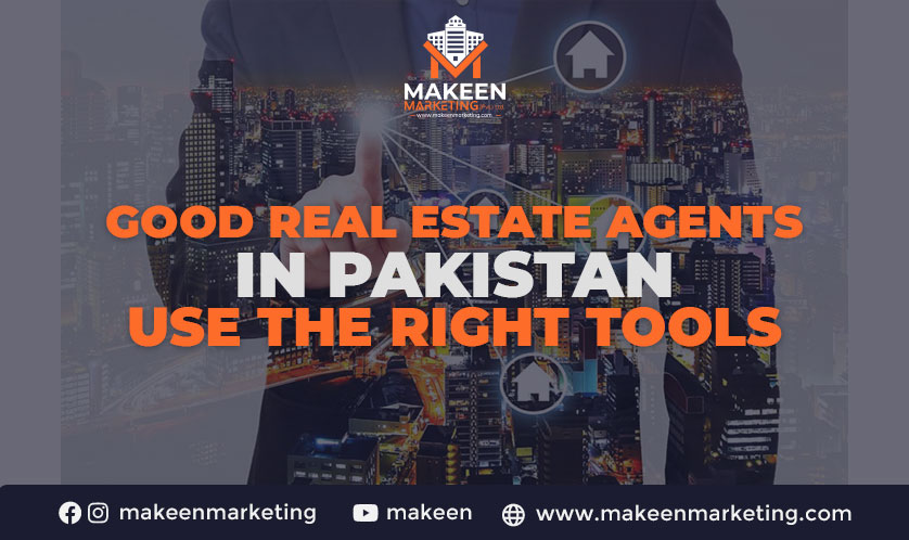 real estate agents use the right tools