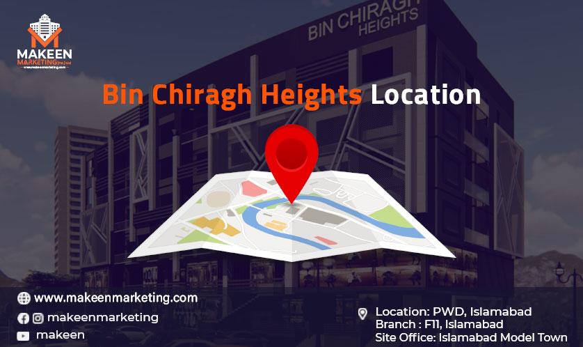 Bin-Chiragh-Heights-Location