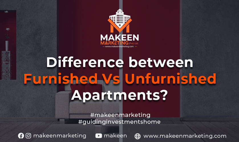 difference between furnished and unfurnished