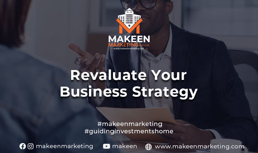 reevaluate your business strategy