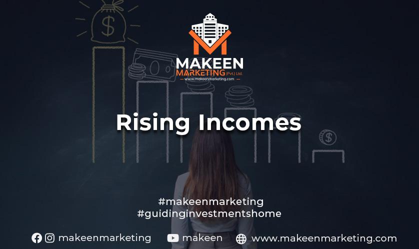 rising incomes