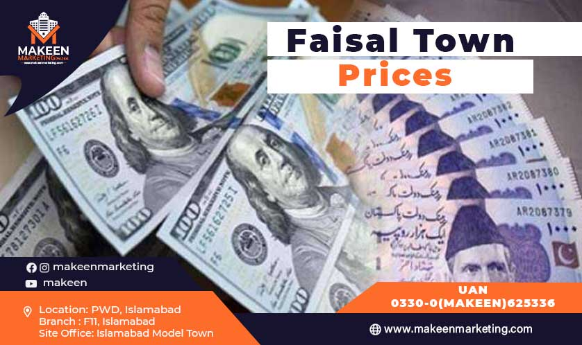 faisal town prices