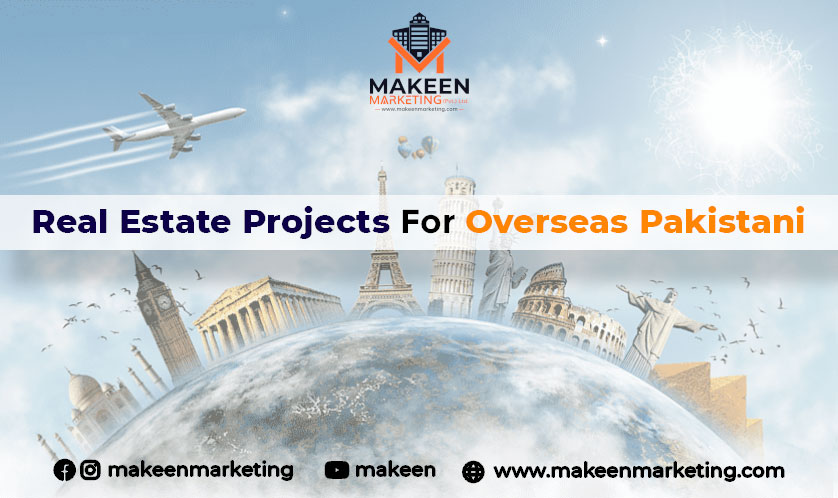 real estate projects for overseas Pakistani