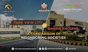 Park View City vs Bahria Enclave