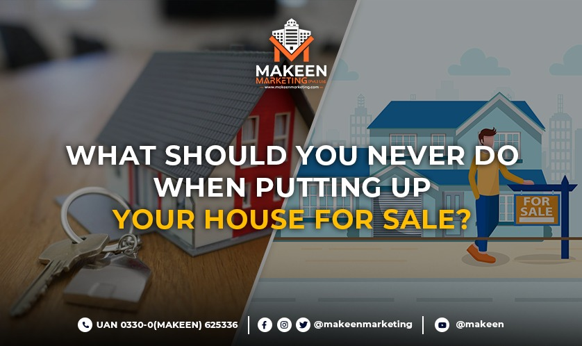 Putting You House for Sale