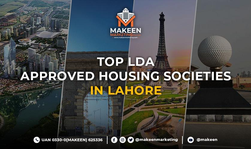 LDA approved housing societies